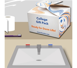 Shower Caddy Kit Complete - College Gift Pack