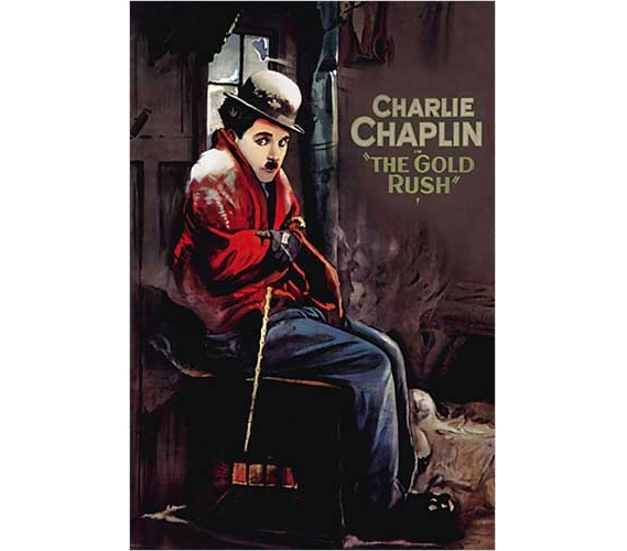 Decorate Your Dorm Charlie Chaplin Gold Rush Poster