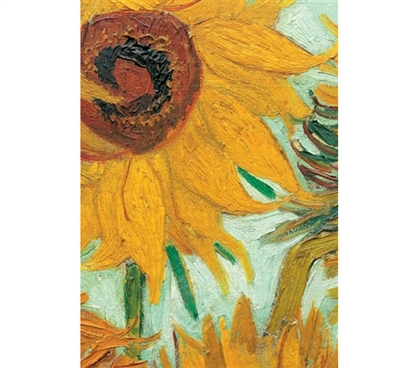 Vase With Twelve Sunflowers Van Gogh Poster