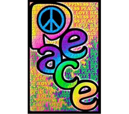 Peace love happiness poster cheap posters for dorms for Cool posters for your room