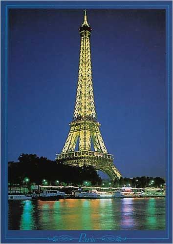 Best Decor For Dorms Eiffel Tower At Night Paris