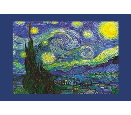 Vincent Van Gogh Starry Night College Dorm Room Poster