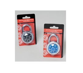 50 MM Combination Padlock College Supplies Dorm Security Must Have Dorm Room Gadgets