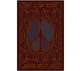 Peace Love Tapestry Dorm bedding supplies