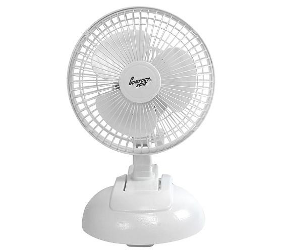 6 Quot Desktop Fan 2 In 1 Desk Clip Fan Cute Dorm Fan