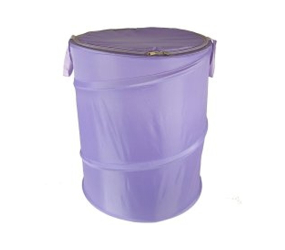 Lavender Bongo Durable Dorm Laundry Hamper Useful Dorm