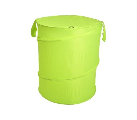 Lime Green Bongo Durable Dorm Laundry Hamper Durable