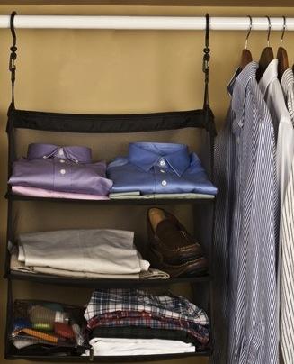 Portable Dorm Closet Shelves 2 In 1 College Product
