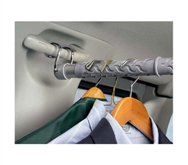 Fit More Stuff In The Trunk - Quick Pack Up Car Clothes Bar - Keep Clothes Wrinkle Free
