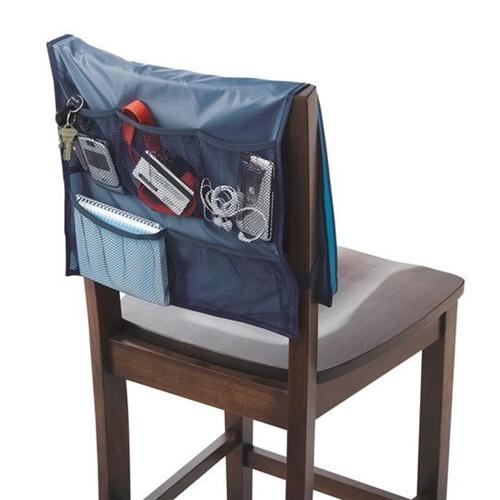 Navy Comfort Chair Organizer College Dorm Organization