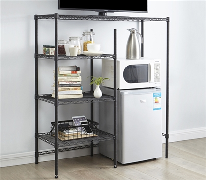 The Shelf Supreme Adjustable Shelving Gunmetal Gray