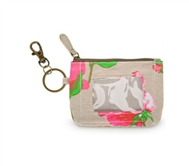 Dorm Accessories - Pretty Posies Student ID Case - Key Holder