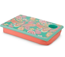 Great For Studying - Paisley Dream LapDesk - Decor For College Girls