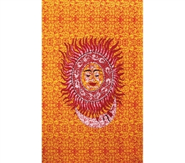 Cheap And Fun - Buddha Sun Moon Tapestry - Cool Dorm Decoration