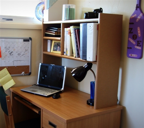 Eco-Shelf - Dorm Room Desk Bookshelf Cool Dorm Storage ...