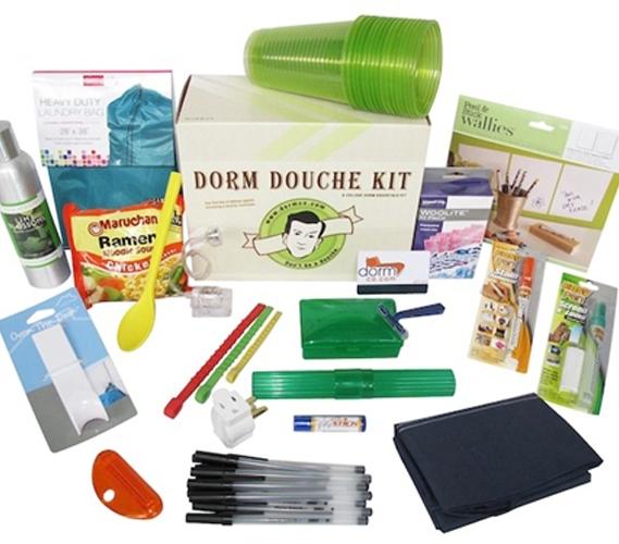 Dorm Douche Kit Package College Life Preparedness