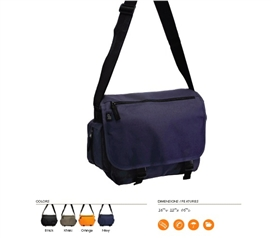 Stay Organized - Compact Messenger Bag - Great For Folders And School Stuff