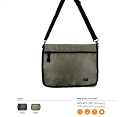 Needed To Carry College Stuff - Tech Protection Messenger Bag - Helps You Keep Organized
