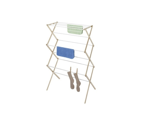 Set It Up Right In Your Dorm Wood Drying Rack