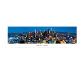 Los Angeles, California - Twilight Panorama