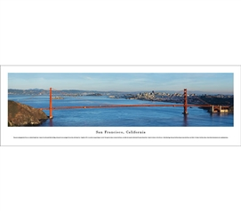 San Francisco, California - Bridge Panorama