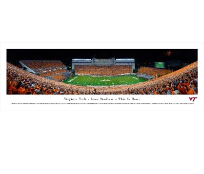 Virginia Tech Hokies Lane Stadium Panorama