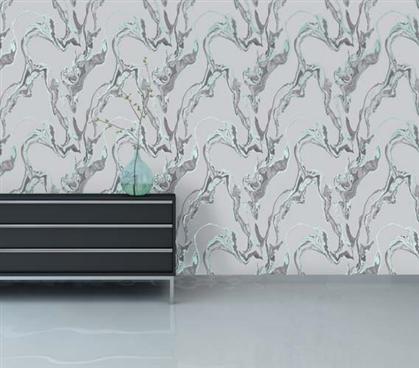 Marble Stream Designer Removable Wallpaper For Dorms