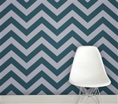 Zee Teal Designer Removable Wallpaper