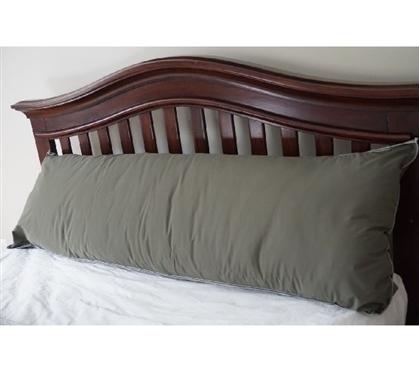 Dorm Bedding Body Pillow Gray