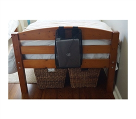 College Dorm Storage Solutions - The Bedside Laptop Caddy