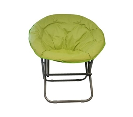 Cool Dorm Seating - Comfort Padded Moon Chair - Lime - College Accessories