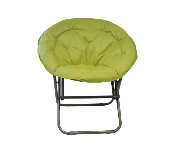 Cool Dorm Seating fort Padded Moon Chair Lime College Accessories