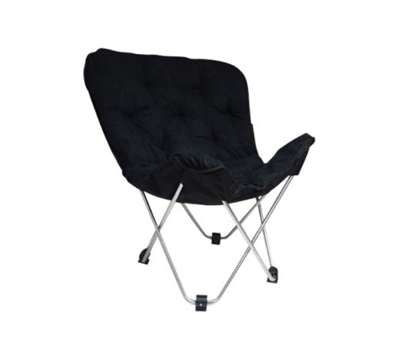 Dorm Lounge Chairs Oversized Butterfly Chair Black