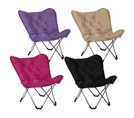 Dorm Lounge Chairs - Memory Foam Butterfly Chair - College Seating