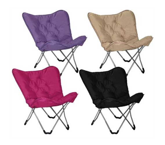 Dorm Lounge Chairs Memory Foam Butterfly Chair College Seating