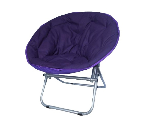 fort Padded Moon Chair Downtown Purple Adds To Dorm Room Decor