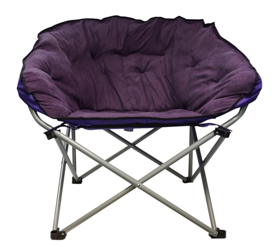 Oversized College Chair Dark Purple