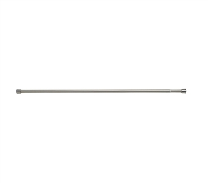 Extra Long Tension Rod - Brushed Stainless Steel