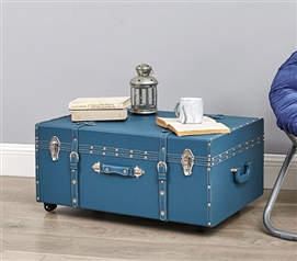 The Sorority College Dorm Trunk - Mallard Blue