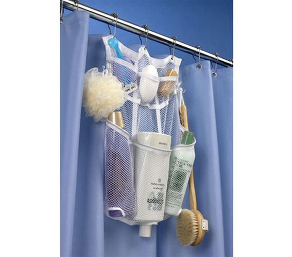 hanging shower organizer shower caddy that stays up in the