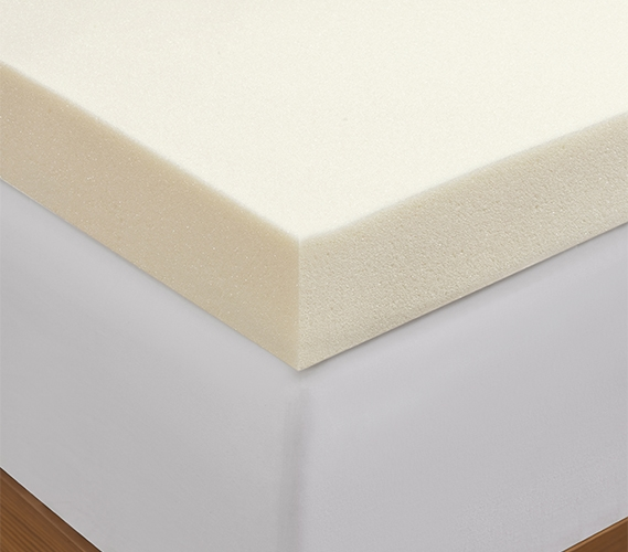 3 Quot Memory Foam Mattress Topper Twin Xl Sized To Fit