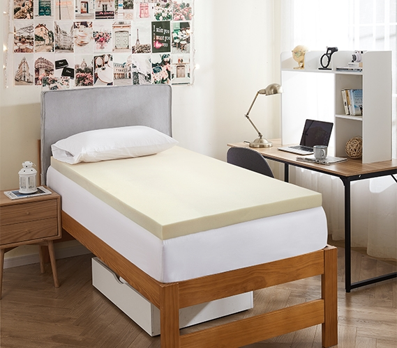 C de 3memtxl Memory foam mattress topper twin