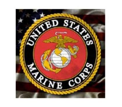 Marine Corps Logo Tin Sign Dorm Room Wall Decor College
