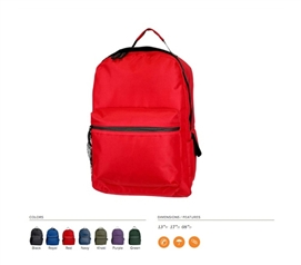 Carry College Supplies - Classic College Backpack - Needed For College