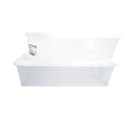 Underbed Storage Box - 28 Qt (2 Pack)