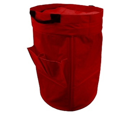 Large College Laundry Duffel Bag - Red - Must Have Dorm Supply