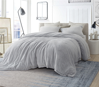 Coma Inducer Twin Xl Comforter Frosted Granite Gray