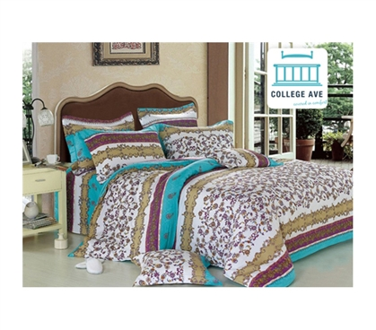 Talia Twin Xl Comforter Set College Ave Designer Series