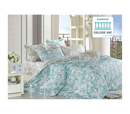 Ashen Teal Twin Xl Comforter Set College Ave Designer