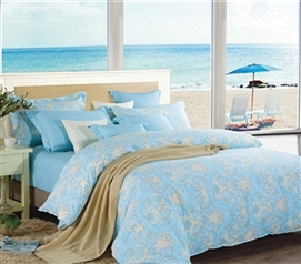 Summer Dream Twin XL Comforter Set - College Ave Designer Series - Cheap Yet Designer Bedding